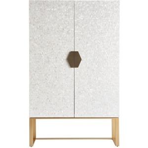 Love. Joy. Bliss.-Miranda Kerr Home Opaline Bar Cabinet