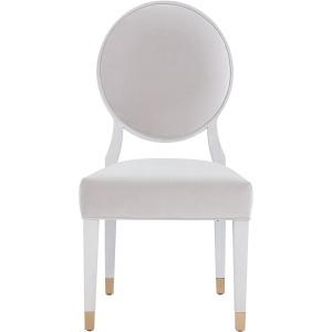 Love. Joy. Bliss.-Miranda Kerr Home Love Joy Bliss Oval Side Chair