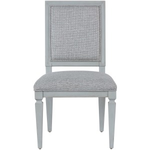 Summer Hill - French Gray Woven Accent Side Chair