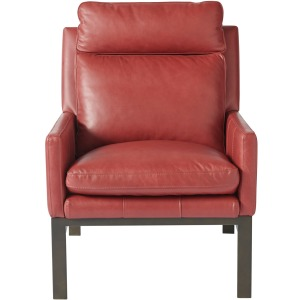 Curated Scarlet Accent Chair