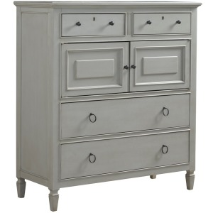 Summer Hill Dressing Chest - French Gray