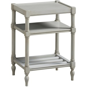 Summer Hill Chairside Table - French Gray