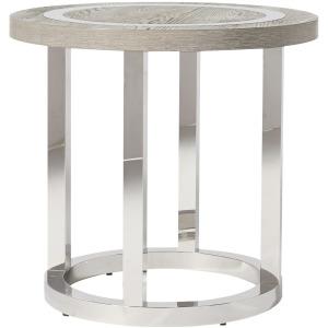Modern Wyatt Round End Table