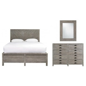 Curated 3 PC King Bedroom Set