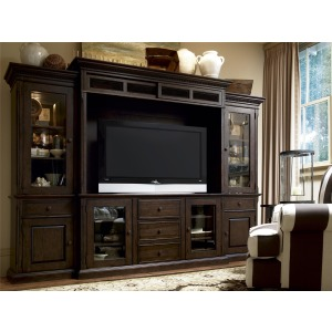 Down Home Home Entertainment Wall System