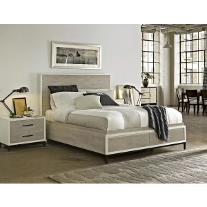 UNI 219 6PC KG STRG BED SET