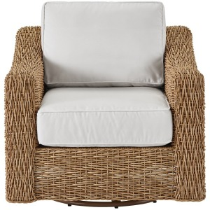 Coastal Living Laconia Swivel Chair
