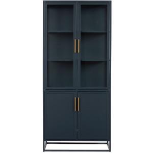 Getaway Coastal Living Home Santorini Tall Metal Kitchen Cabinet
