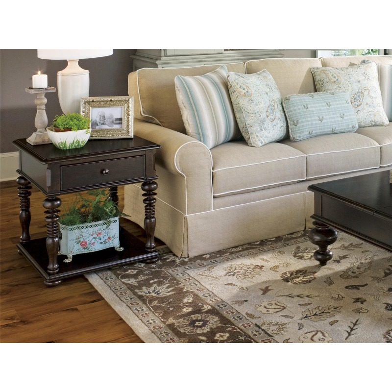 Paula Deen Home Rectangular End Table By Universal 932802 Darbys