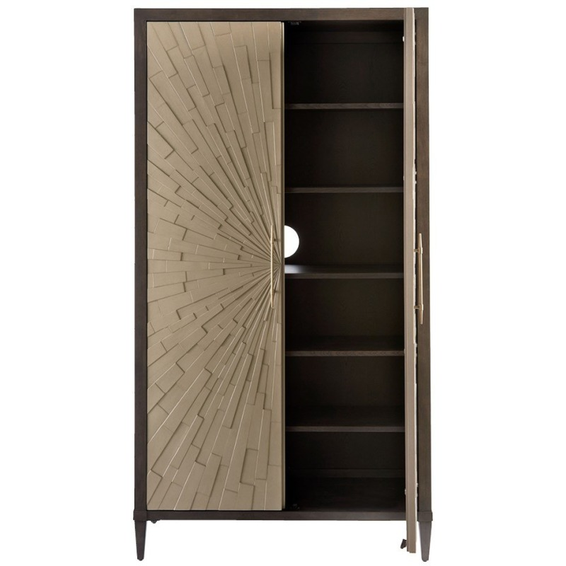 Soliloquy Armoire - Silo with a white background