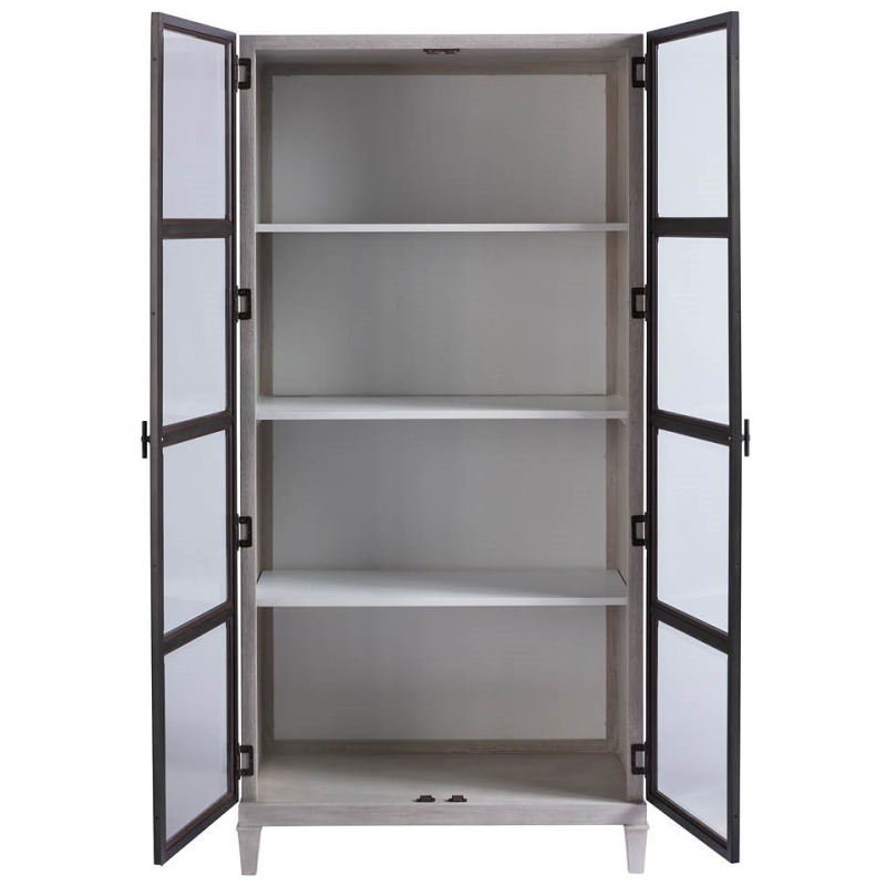 Simon Display Cabinet - Silo with a white background