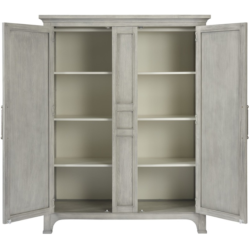Wide Utility Cabinet - Silo with a white background