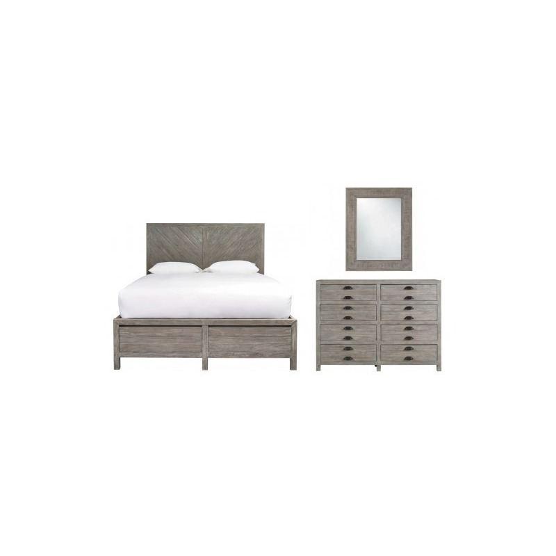 Curated 3 Pc King Bedroom Set By Universal Furniture Mall Of Kansas