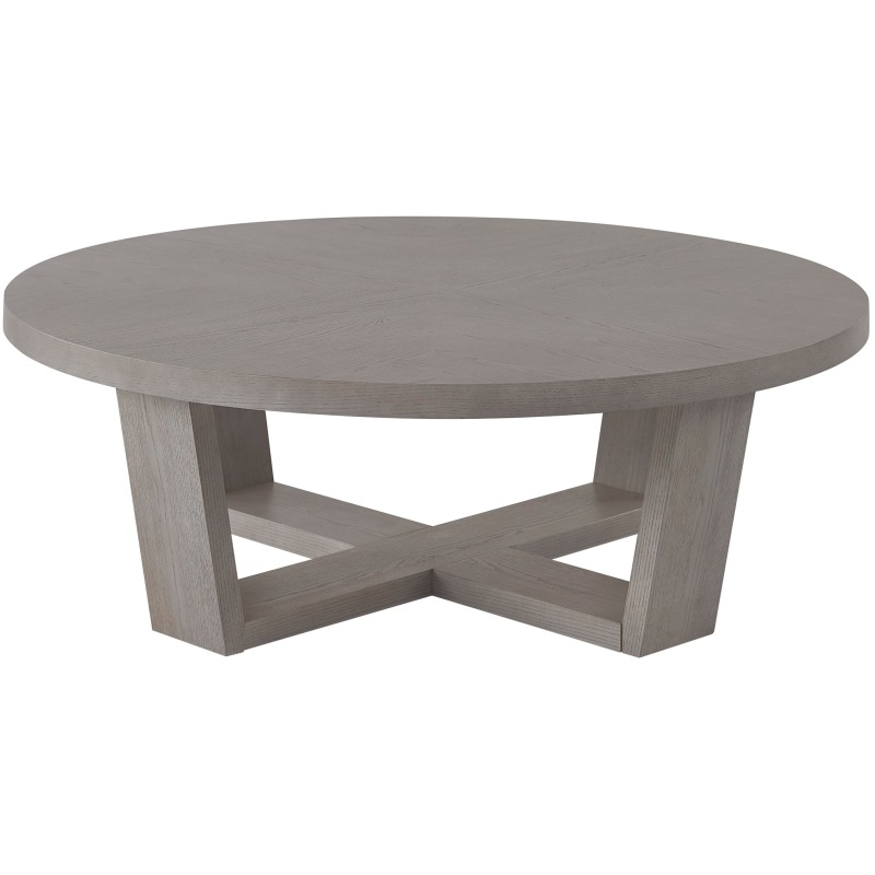 Round Cocktail Table - Silo with a white background