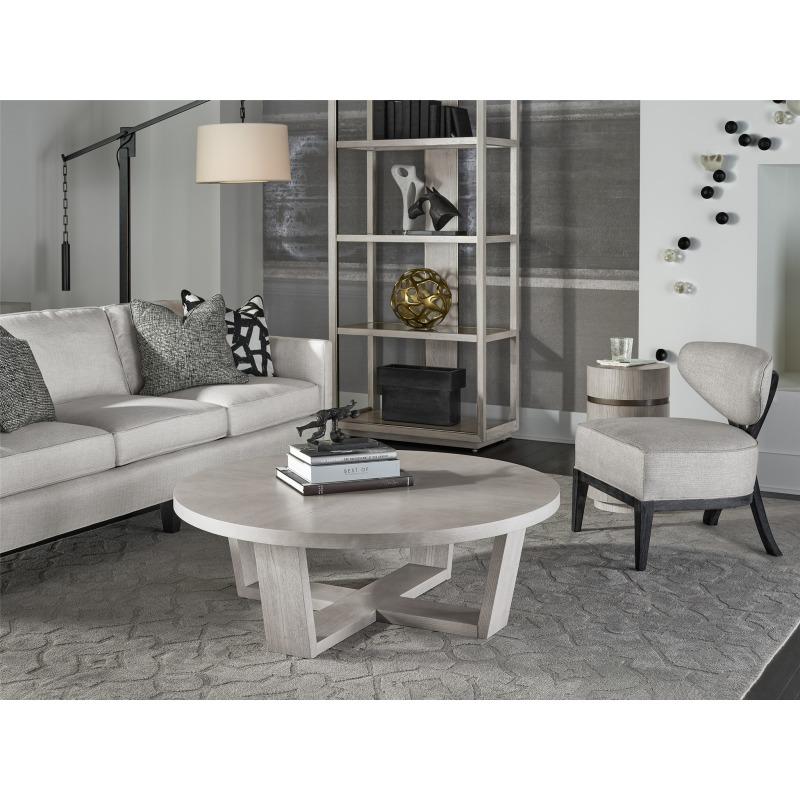 Round Cocktail Table - Multiple item room scene