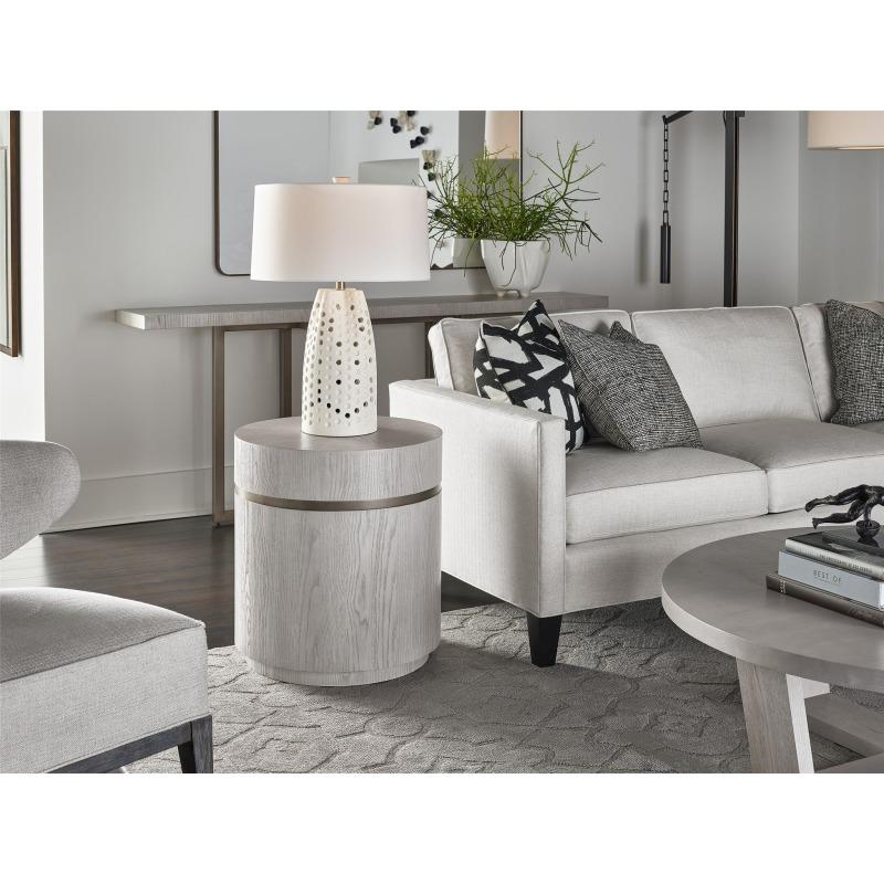 Round End Table - Multiple item room scene