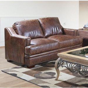 Loveseat - Ancient Brown