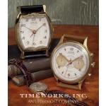 Wristwatch Alarm Round Aureole