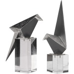 Origami Bird Figurines