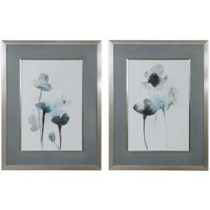 Midnight Blossoms Framed Print S/2