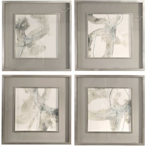 Divination Framed Prints - Set of 4