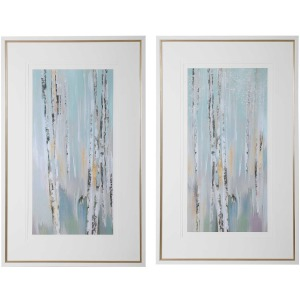 Pandora's Forest Framed Prints, S/2