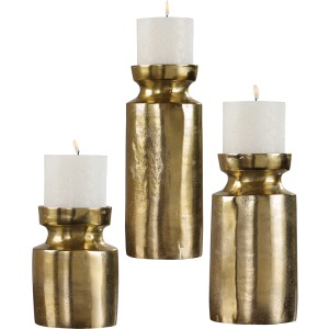 Amina Candle Holders - Set of 3