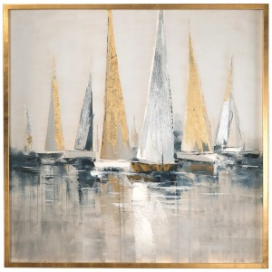Regatta Hand Painted Canvas