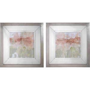 Dusty Blush & Olive Framed Prints
