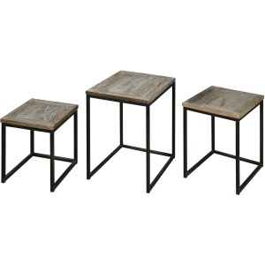 Bomani Nesting Tables, Set/3