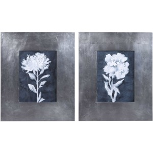 Dream Leaves Framed Prints, Set of 2