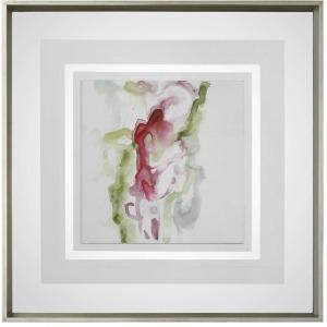 Minimalist Fuchia Framed Print