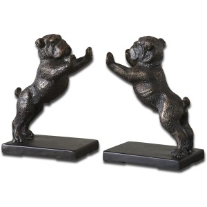 Bulldogs Bookends