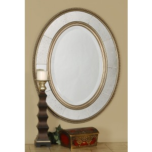 Lara Oval Mirror