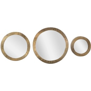 Novara Round Mirrors - Set of 3