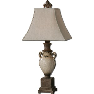 Francavilla Ivory Table Lamp