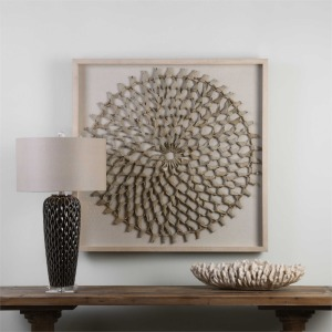 Palm Art Shadow Box