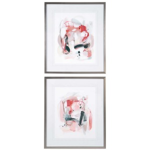 Soft Speak Framed Prints S/2