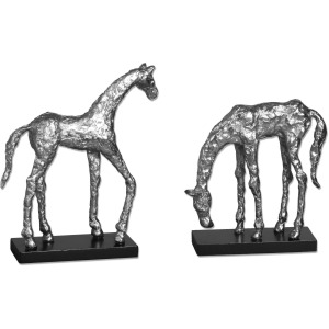 Let's Graze Sculptures - Set of 2