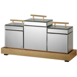 Faustina Boxes and Tray S/4