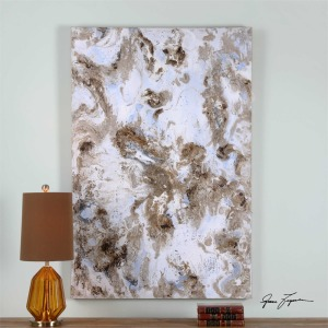 Dust Storm Hand Painted Canvas