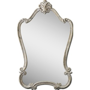 Walton Hall White Vanity Mirror