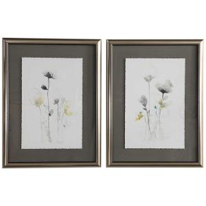 Stem Illusion Framed Prints S/2