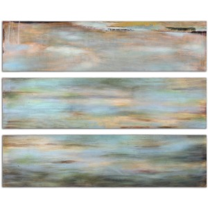 Horizon View Hand Painted Canvases - Set of 3