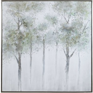 Calm Forest Hand Painted Canvas