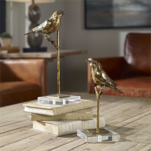 Passerines Figurines Set of 2