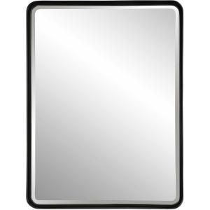 Crofton Black Large Mirror