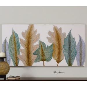 Aqua Leaves