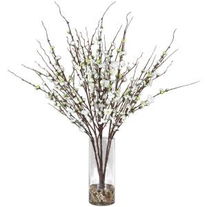 Quince Blossoms Silk Centerpiece