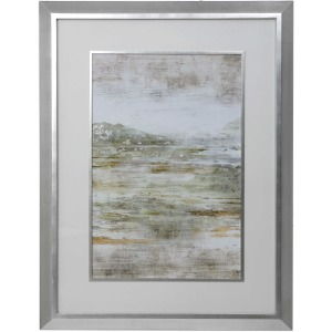 Beyond the Land Framed Print